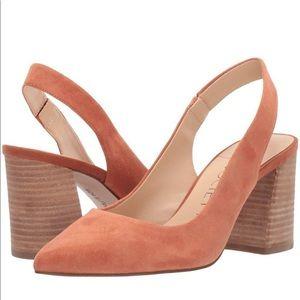 Sole Society TADISA SLINGBACK PUMP Block Heel 7.5